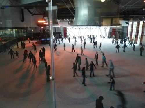 Sortie à la patinoire l'Iceberg à Strasbourg