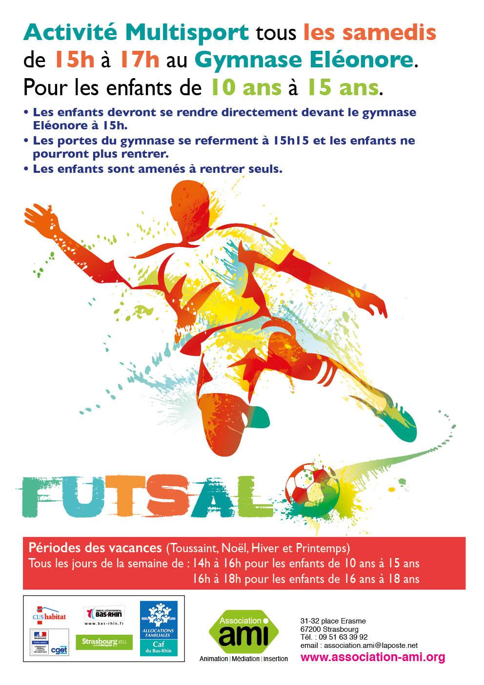 Activité sportive : Futsal
