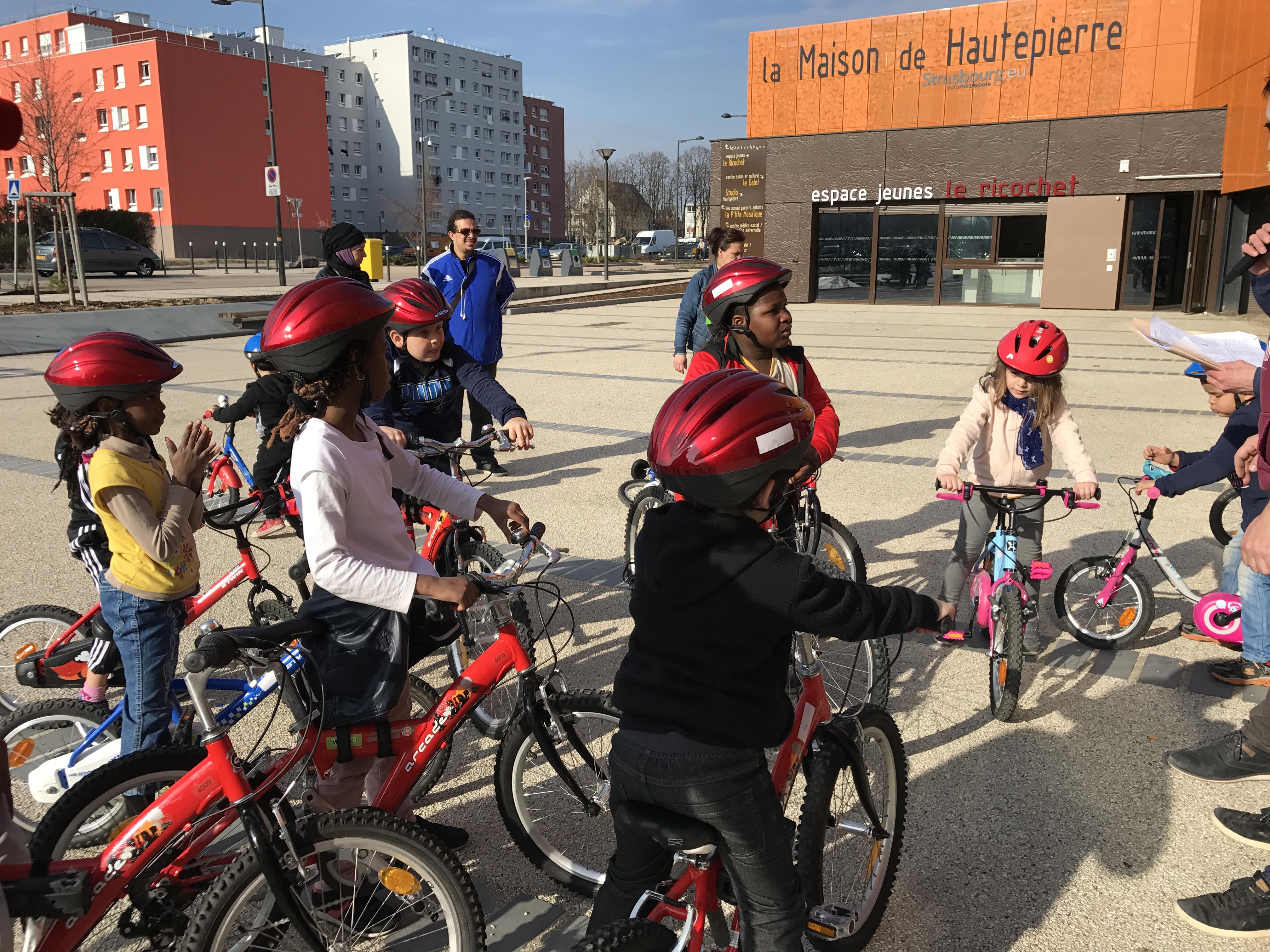 Tous à bicyclette avec «Vélo Santé Hautepierre» !