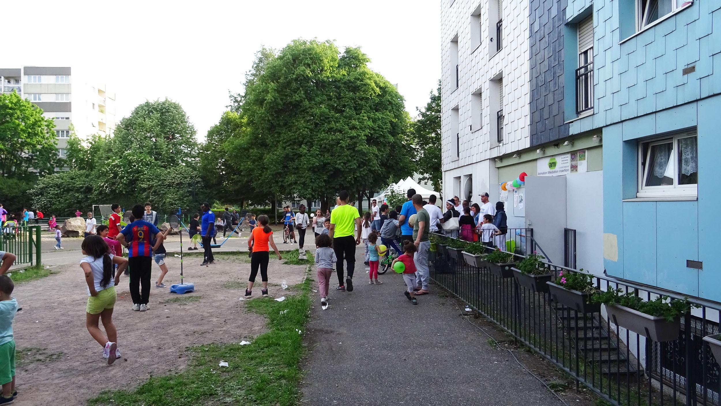 La fête des voisins 2017 à Hautepierre