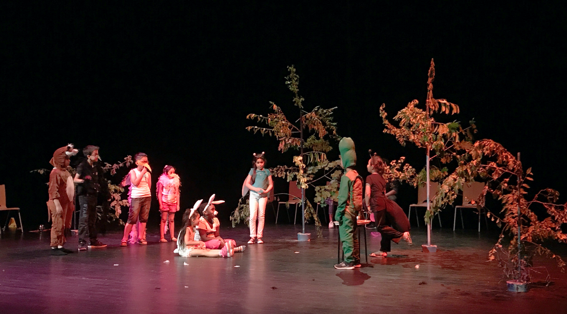 Spectacle de Théâtre «Les Fables de La Fontaine»