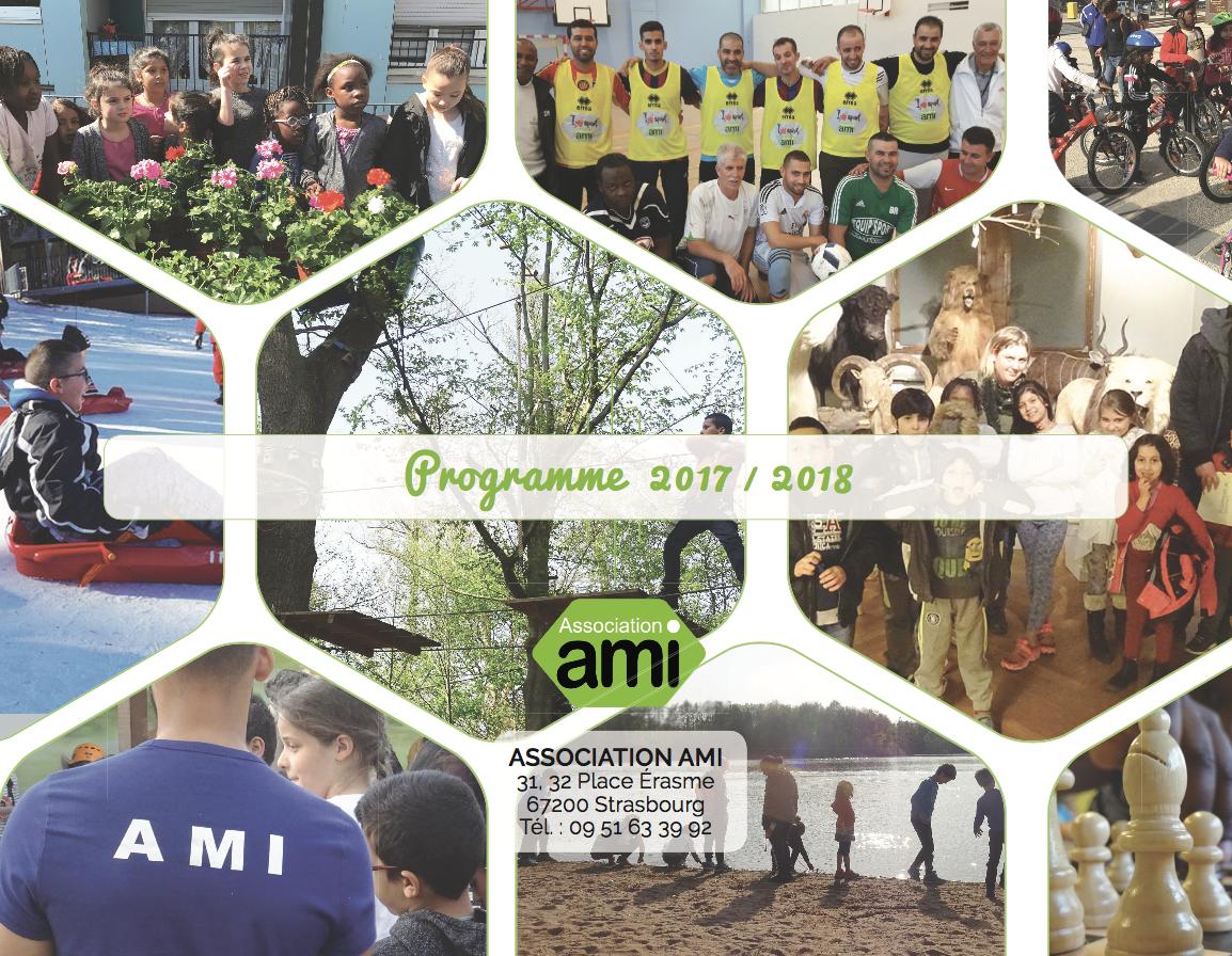 Programme d'activité 2017 - 2018   Association AMI