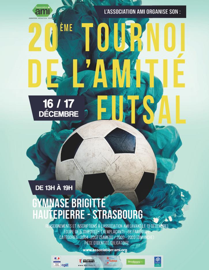 20ème Tournoi de l'amitié Futsal