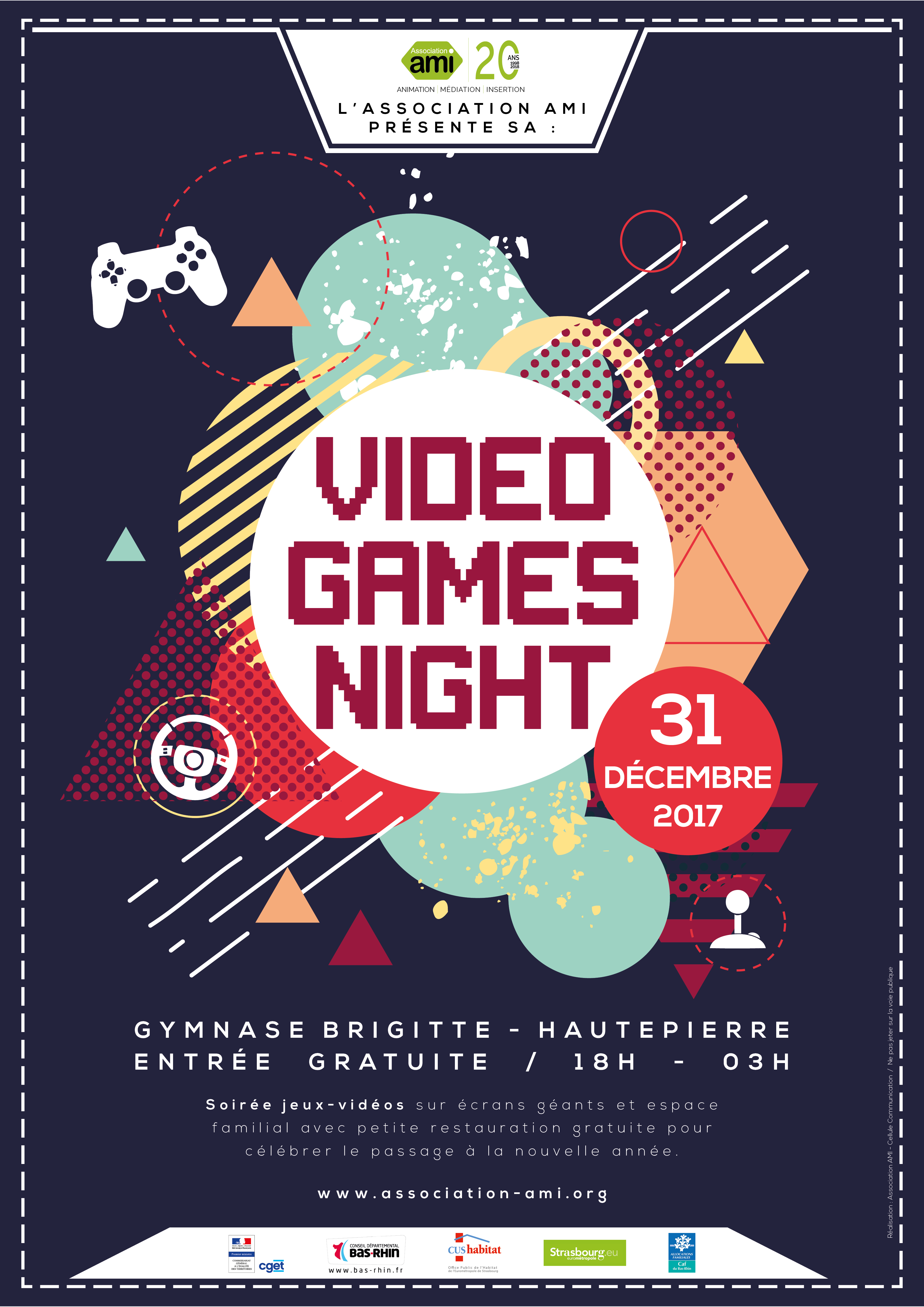 Video Games Night - Nouvel An 2017