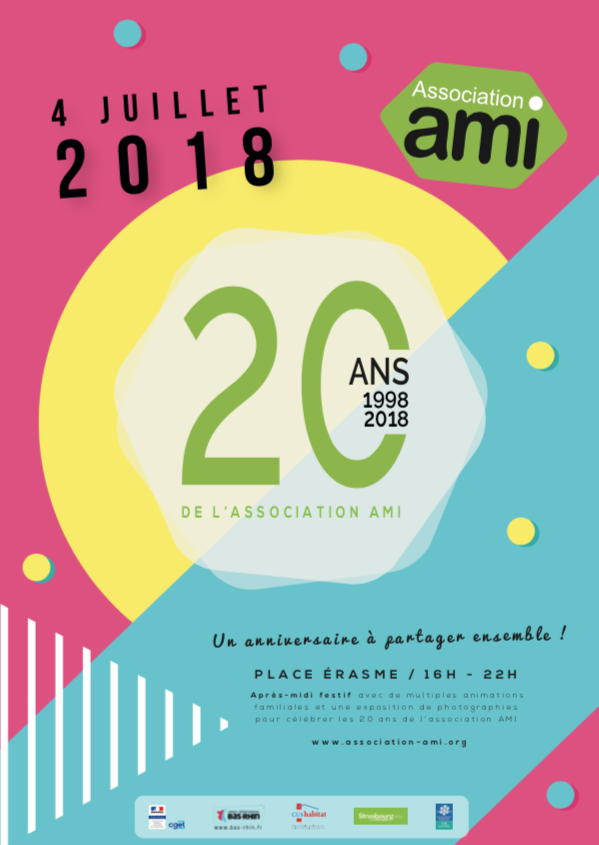 Anniversaire : les 20 ans de l'association AMI