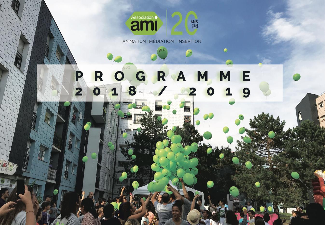 Programme d'activités 2018 - 2019   Association AMI