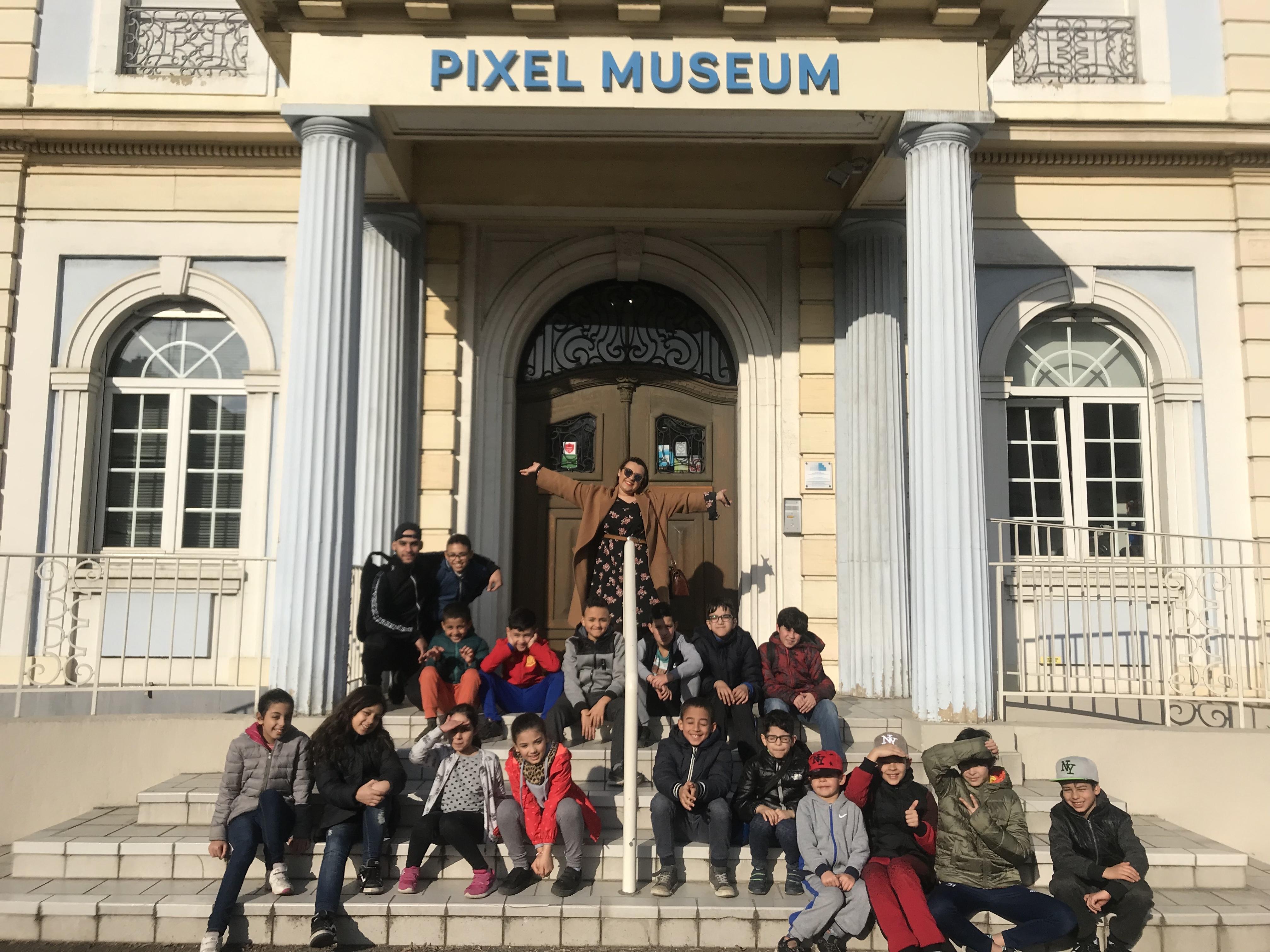 Visite du Pixel Museum
